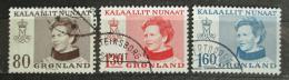 Poštovní známky Grónsko 1979 Královna Markéta II. Mi# 112-14