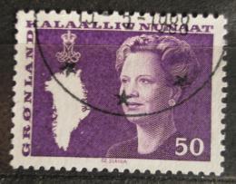 Poštovní známka Grónsko 1981 Královna Markéta II. Mi# 126