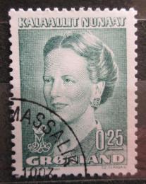 Poštovní známka Grónsko 1990 Královna Markéta II. Mi# 201
