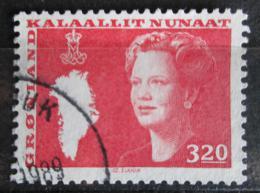 Poštovní známka Grónsko 1989 Královna Markéta II. Mi# 189