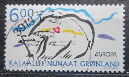 Poštovní známka Grónsko 1999 Evropa CEPT, lední medvìd Mi# 338