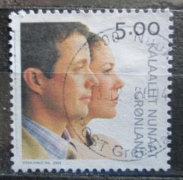 Poštovní známka Grónsko 2004 Královská svatba Mi# 416