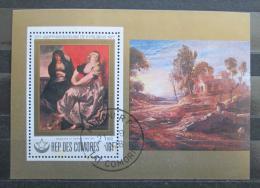 Poštovní známka Komory 1978 Umìní, Peter Paul Rubens Mi# 460 Block
