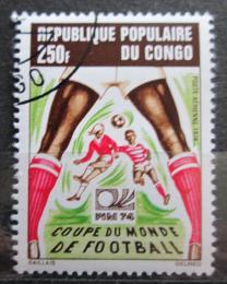 Poštovní známka Kongo 1974 MS ve fotbale Mi# 411 Kat 2.60€