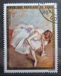 Poštovní známka Kongo 1974 Umìní, Degas Mi# 437
