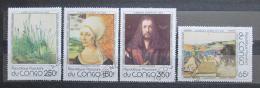 Poštovní známky Kongo 1978 Umìní, Albrecht Dürer Mi# 657-60