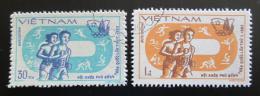 Poštovní známky Vietnam 1983 Asijské sportovní hry Mi# 1369-70