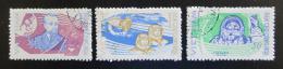 Poštovní známky Vietnam 1965 Prùzkum vesmíru Mi# 401-03