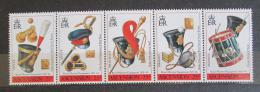 Poštovní známky Ascension 1991 Vybavení královského námoønictva Mi# 545-49 Kat 14€
