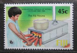 Poštovní známka Fidži 1988 Rada žen, 100. výroèí Mi# 579