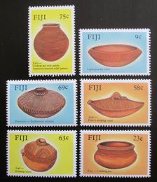 Poštovní známky Fidži 1988 Stará keramika Mi# 580-85
