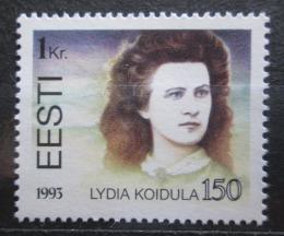 Poštovní známka Estonsko 1993 Lydia Koidula, básníøka Mi# 219