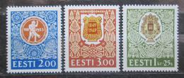 Poštovní známky Estonsko 1994 Pìvecký festival Mi# 225-27