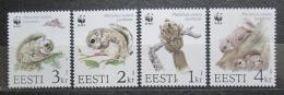 Poštovní známky Estonsko 1994 Poletuška slovanská, WWF 165 Mi# 229-32