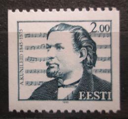 Poštovní známka Estonsko 1995 Aleksander Kunileid, skladatel Mi# 269