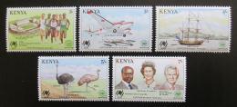 Poštovní známky Keòa 1988 EXPO Brisbane Mi# 437-41