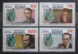 Poštovní známky Maledivy 1986 Socha svobody, 100. výroèí Mi# 1170-73 Kat 8.50€