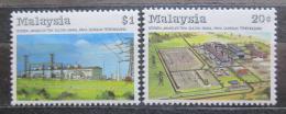 Poštovní známky Malajsie 1988 Zavlažovací systém Mi# 378-79
