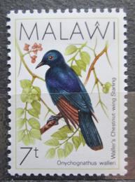 Poštovní známka Malawi 1988 Špaèek hvízdavý Mi# 504