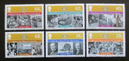 Poštovní známky Ostrov Man, Velká Británie 2005 Evropská gastronomie Mi# 1217-22