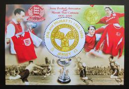 Poštovní známka Jersey, Velká Británie 2005 Fotbalový svaz Mi# Block 49