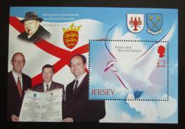 Poštovní známka Jersey, Velká Británie 2005 Konec války, 60. výroèí Mi# Block 50