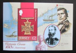 Poštovní známka Jersey, Velká Británie 2006 Viktoriin køíž Mi# Block 53