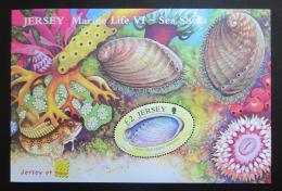 Poštovní známka Jersey, Velká Británie 2006 Moøská fauna, hologram Mi# Block 55