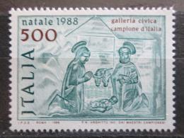 Poštovní známka Itálie 1988 Vánoce Mi# 2068