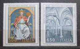 Poštovní známky Itálie 1989 Kulturní dìdictví Mi# 2073-74