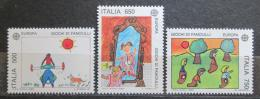 Poštovní známky Itálie 1989 Evropa CEPT, dìtské hry Mi# 2078-80 Kat 6.50€