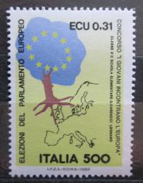 Poštovní známka Itálie 1989 Volby do Evropského parlamentu Mi# 2083