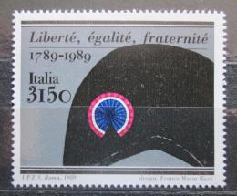 Poštovní známka Itálie 1989 Francouzská revoluce, 200. výroèí Mi# 2092 Kat 5€