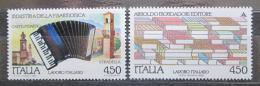 Poštovní známky Itálie 1989 Italské technologie v zahranièí Mi# 2097-98