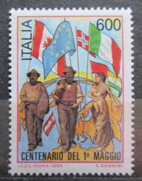 Poštovní známka Itálie 1990 Umìní, Giuseppe Pellizza da Valpedo Mi# 2148