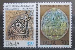 Poštovní známky Itálie 1990 Kulturní dìdictví Mi# 2154-55