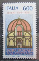 Poštovní známka Itálie 1990 Hudební festival Malatestiana, 40. výroèí Mi# 2156