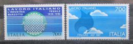 Poštovní známky Itálie 1987 Italské technologie v zahranièí Mi# 2003-04