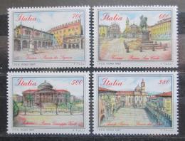 Poštovní známky Itálie 1987 Slavná námìstí Mi# 2022-25