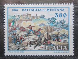Poštovní známka Itálie 1987 Váleèná scéna Mi# 2028