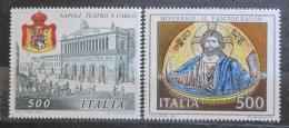 Poštovní známky Itálie 1987 Kulturní dìdictví Mi# 2029-30