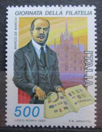 Poštovní známka Itálie 1987 Marco De Marchi Mi# 2032