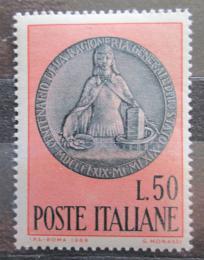 Poštovní známka Itálie 1969 Státní úèetnictví, 100. výroèí Mi# 1294