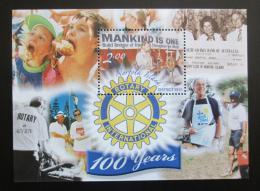 Poštovní známka Norfolk 2005 Rotary Intl., 100. výroèí Mi# Block 49