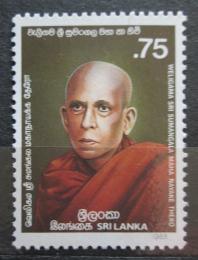 Poštovní známka Srí Lanka 1988 Weligama Sri Sumamgala Maha Nayake Thero Mi# 818