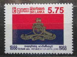 Poštovní známka Srí Lanka 1988 Dìlostøelectvo, 100. výroèí Mi# 819 Kat 4€