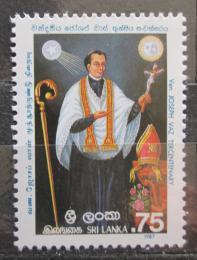 Poštovní známka Srí Lanka 1987 Páter Joseph Vaz Mi# 809
