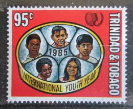 Poštovní známka Trinidad a Tobago 1985 Mezinárodní rok mládeže Mi# 526 Kat 3.50€
