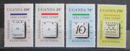 Poštovní známky Uganda 1989 Výstava PHILEXFRANCE Mi# 658-61 Kat 8€