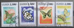 Poštovní známky Uganda 2013 Motýli Mi# 3127-30 Kat 12€